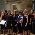 Singing with members of Aston Choir