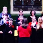 Singing at concert in aid of Parkinsons UK, Swindon